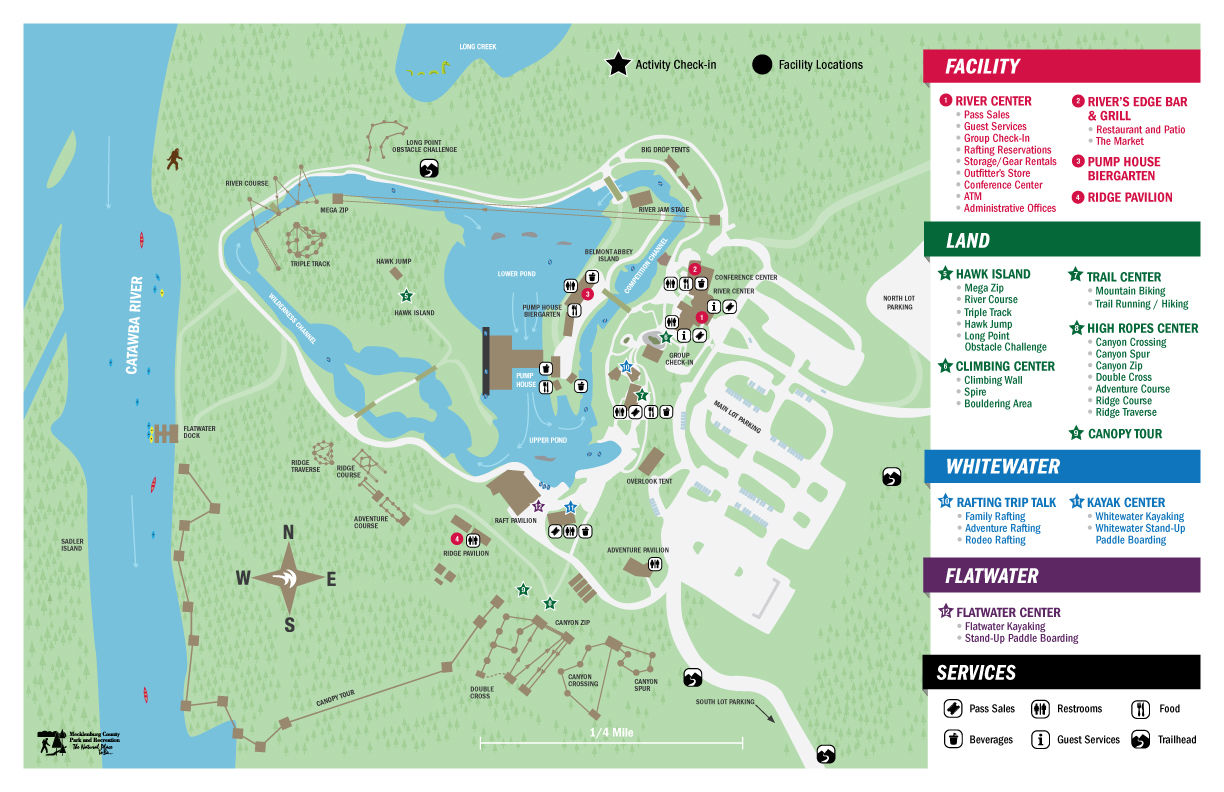 Virtual Tour US National Whitewater CenterUS National - Charlotte us map