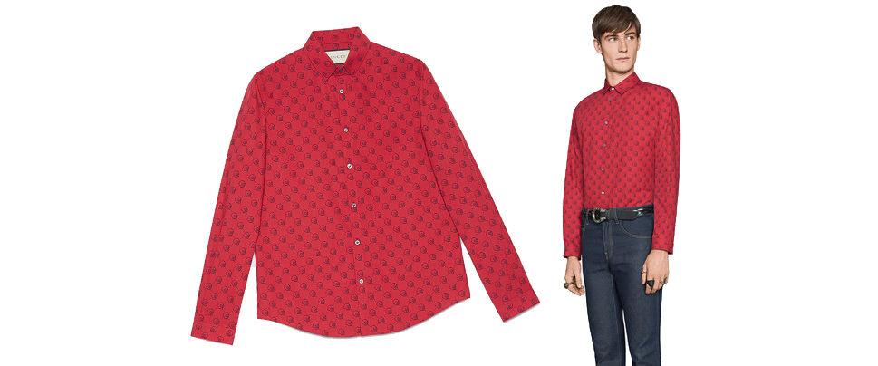 6bbcad15f Gucci Ghost Duke Shirt